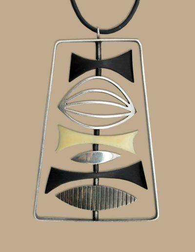 pendant-necklace-geometric-shapes-ebony-silver-walrus-ivory